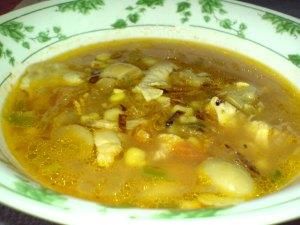 sop jamur jagung manis