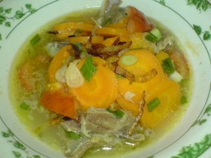 sop wortel kambing
