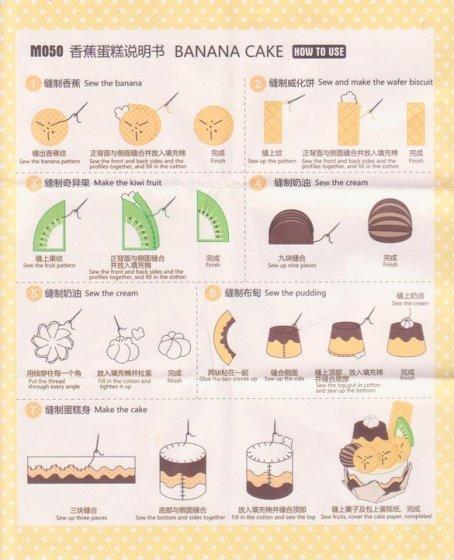 Nie cara bikin pisang, wafer, kiwi dan cream… plus bikin replika ...