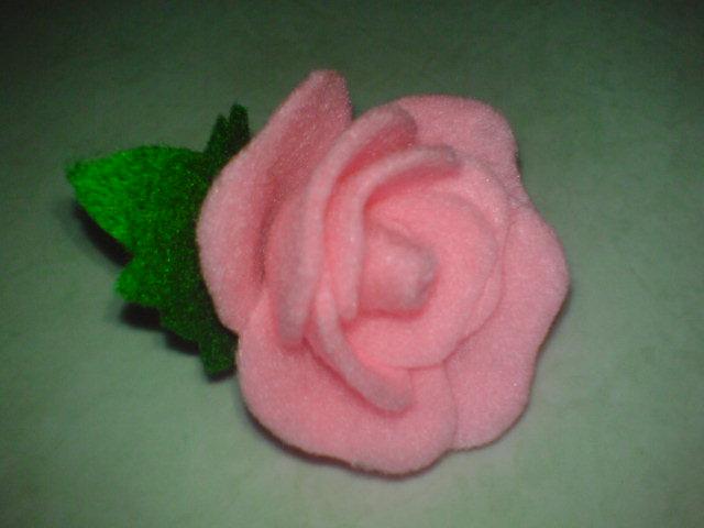 Cara Sederhana Bikin Mawar Cantik Dari Kain Flanel Dsc